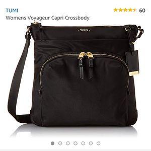 Authentic Tumi Voyager Capri Crossbody bag